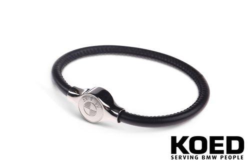 Bmw leather bracelet unisex