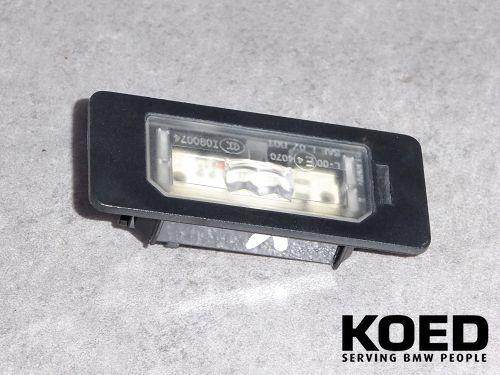 License plate light